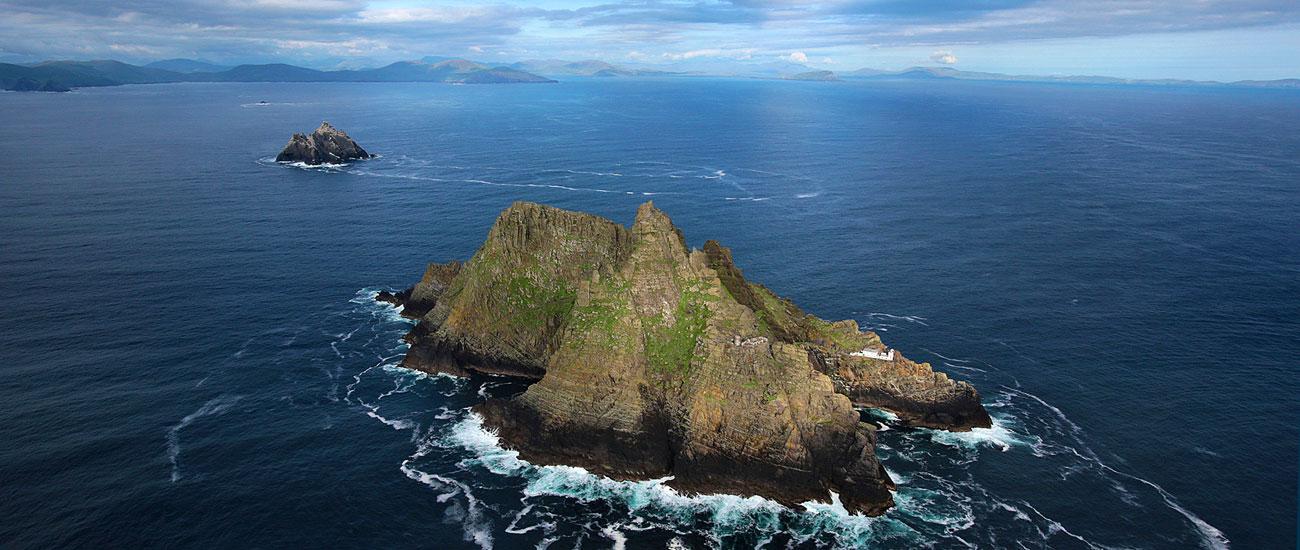 Skellig Islands Aerial